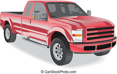 Pick-up-Truck rot