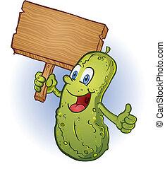 Pickle mit Zeichentrickfilm.