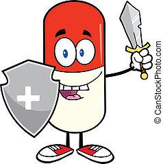 Pille-Kapselwächter