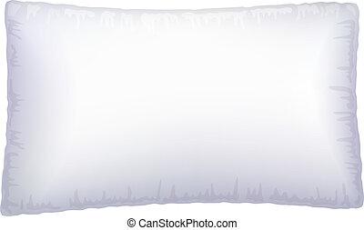 pillow., weißes