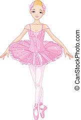 Pinke Ballerina.