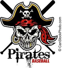 Piraten-Baseball.