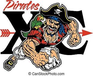 Piraten durchs Land.