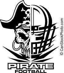 Piratenfußball.
