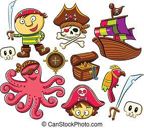 Piratensammlungs-Set