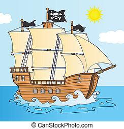 Piratenschiff.