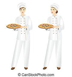 Pizza-Koch.