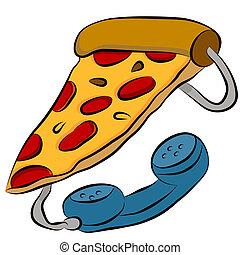Pizza-Telefon-Hotline