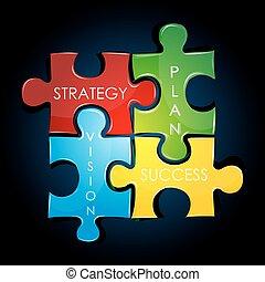 plan, strategie, geschaeftswelt