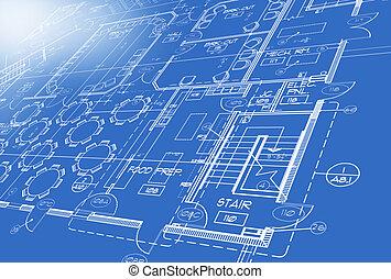 Plan vom Computer