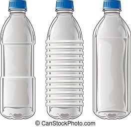 Plastikflaschen.
