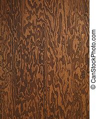 Plywood-Beschaffenheit