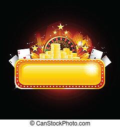 Poker-Casino-Hintergrund