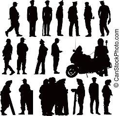 polizei, sammlung