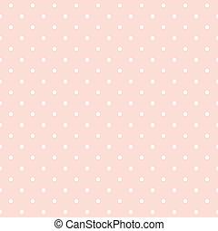 Polka dots pinker Vektor Hintergrund