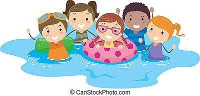 Pool-Kinder