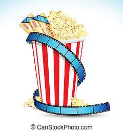 Popcorn mit Kinoticket