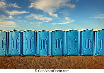Portable Toiletten.
