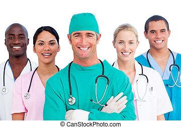 Porträt eines erfolgreichen medizinischen Teams