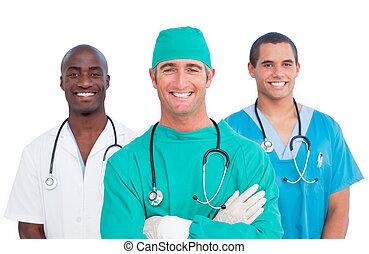 Portrait der Medizinmannschaft