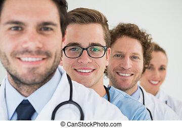 Portrait des medizinischen Teams.