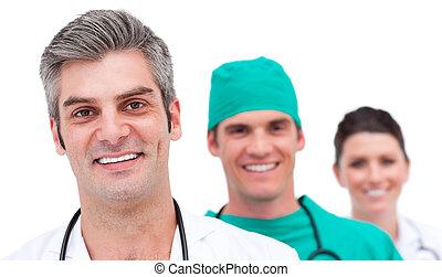 Portrait eines erfolgreichen medizinischen Teams