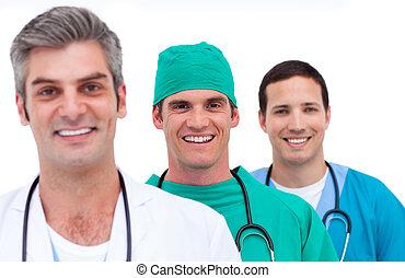 Portrait eines medizinischen Teams
