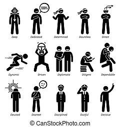 Positive Charaktereigenschaften