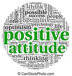 Positive Einstellung in Tag Cloud