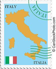 Post an/von Italien