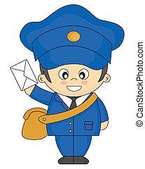 Postbote.