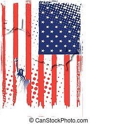 Poster von Amerika
