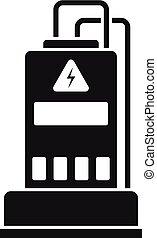 Power Generator Icon, einfache Art