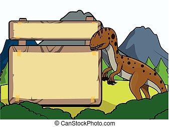 Prähistorisches Tier.