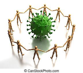 prüfung, virus