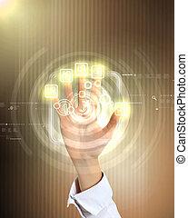 Praktische Technologie im Geschäft