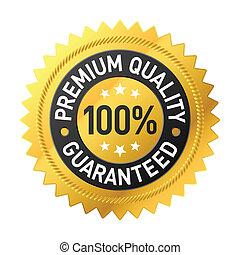 Premiumqualitätszeichen