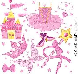 Prinzessin Ballerina Set.