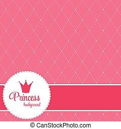 Prinzessin-Kronen-Hintergrundbild.