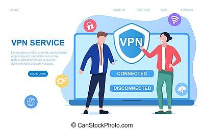 privat, begriff, vernetzung, virtuell