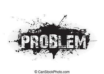 problem, ikone, grunge