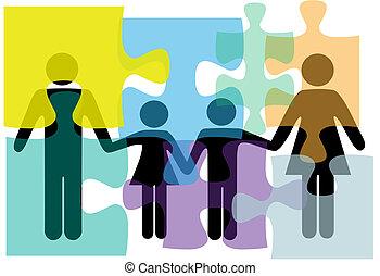 Problemlösung für Familienangehörige im Gesundheitsbereich