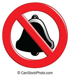Prohibition des Klingelns