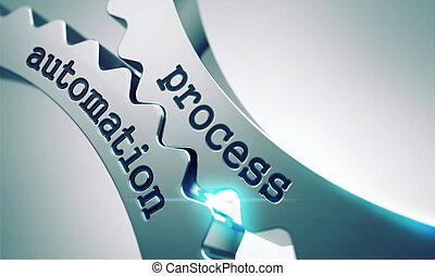 Prozessautomatisierung auf den Getrieben.