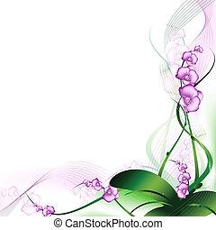 Purple Orchidee