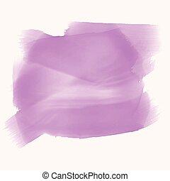 Purple Watercolor Textur mit Textraum.