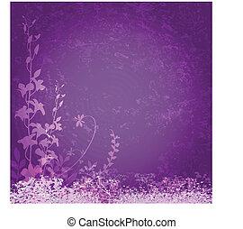 Purpurblüten.
