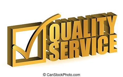 Qualitätsdienst