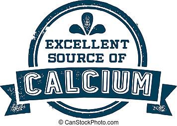 quelle, ausgezeichnet, kalzium