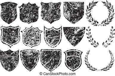 Räuche Elemente für Logos